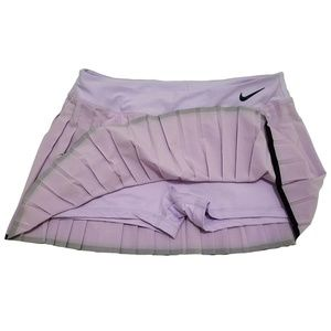Nike Skirts - Nike Court Dri-fit Pleated Tennis Skirt Purple XL